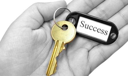 Chìa khóa của thành công không phải quá xa lạ, nó trong tầm tay của bạn.