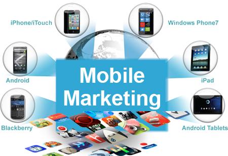 Mobile marketing đang trở thành xu thế hàng đầu trong truyền thông