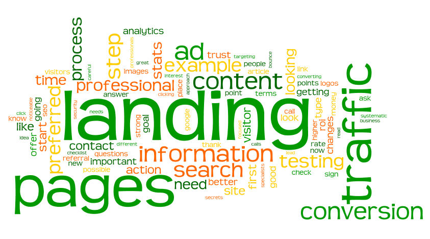 Landing page giúp khách truy cập gắn chặt vào website
