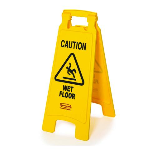 Biển cảnh báo được sử dụng màu vàng rất thường xuyên để có thể nổi bật và thu hút sự chú ý.