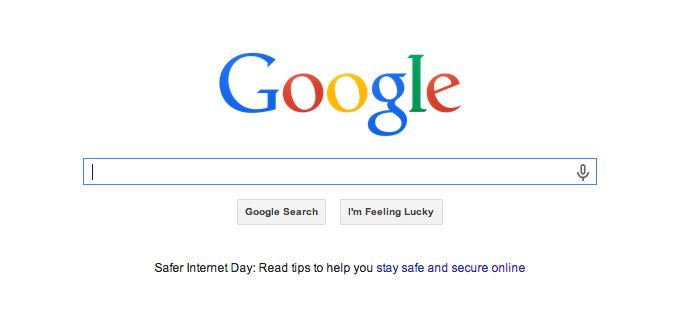Gã khổng lồ Google mới những khoảng trắng tuyệt vời trong thiết kế.