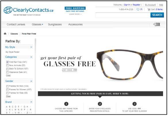 Bạn muốn sở hữu cặp kính miễn phí?