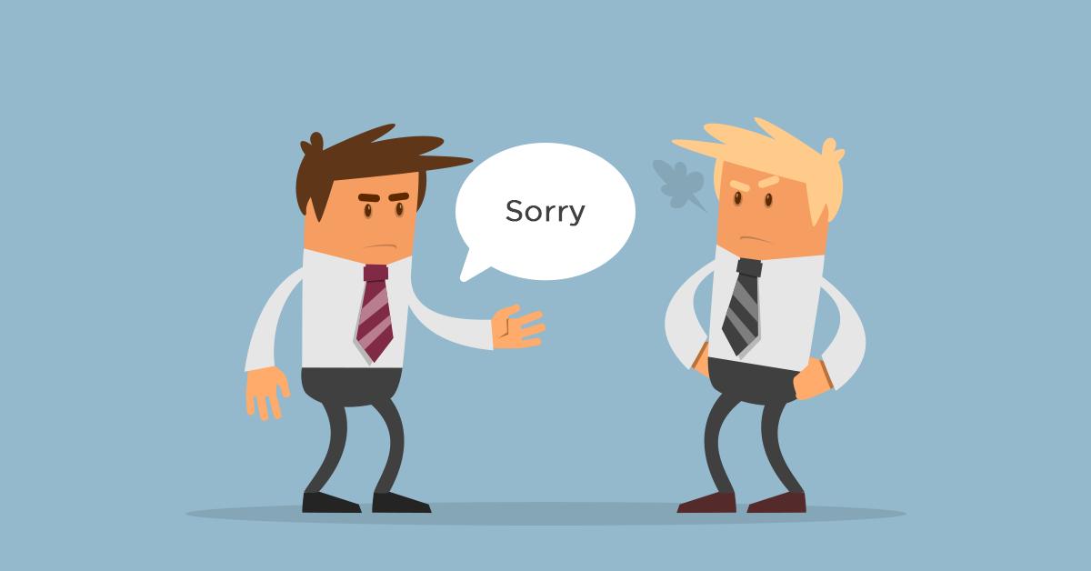 Hãy thực lòng xin lỗi khách hàng, kết quả sẽ tuyệt vời hơn bạn nghĩ