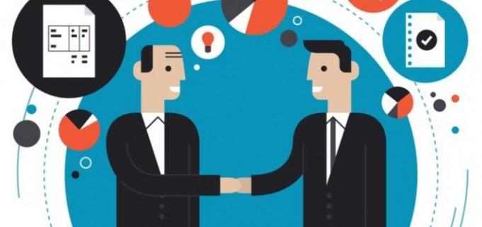 Kết quả hình ảnh cho doanh nghiệp và khách hàng