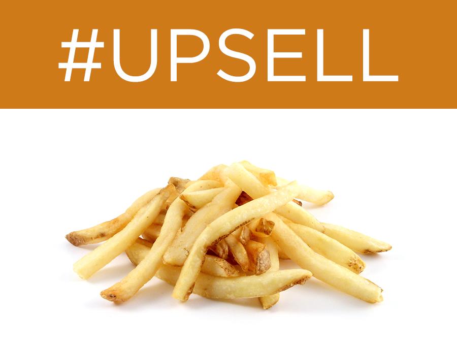 ví dụ về upsell