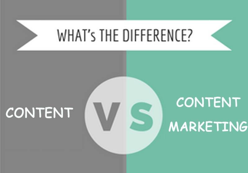 Khác biệt giữa Content và Content Marketing