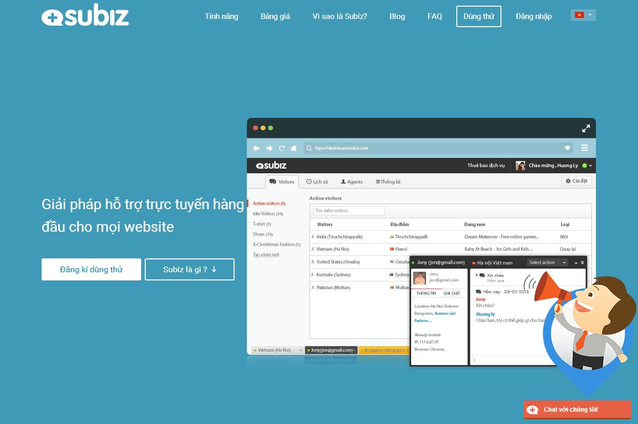 Lòng tin của khách hàng là yếu tố được Subiz đặt lên hàng đầu