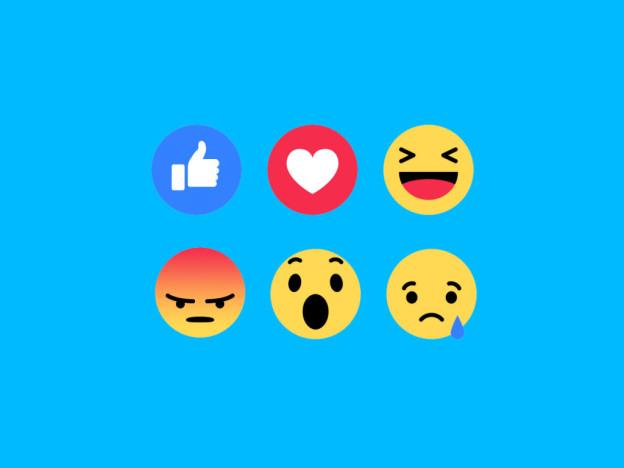 Facebook Reactions là cơ hội để doanh nghiệp thấu hiểu cảm xúc của khách hàng