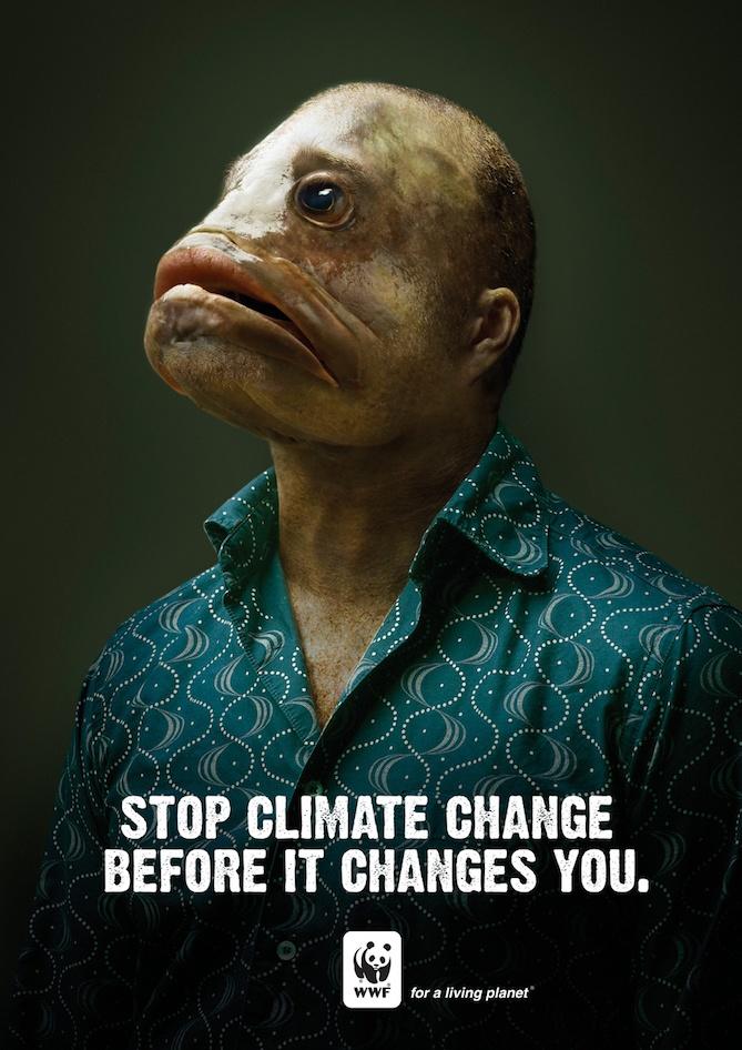 Quảng cáo của World Wildlife Fund