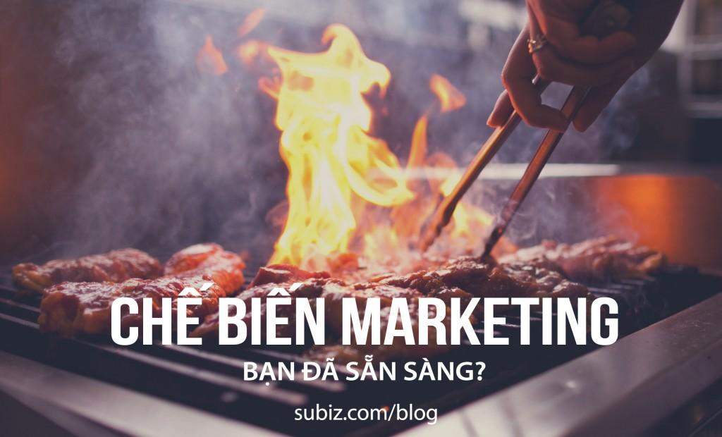 Marketing và nấu nướng
