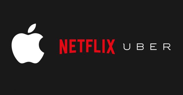 Apple-Netflix-Uber
