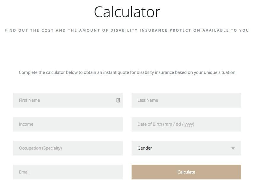 Tạo trang calculator cung cấp thông tin cho khách truy cập