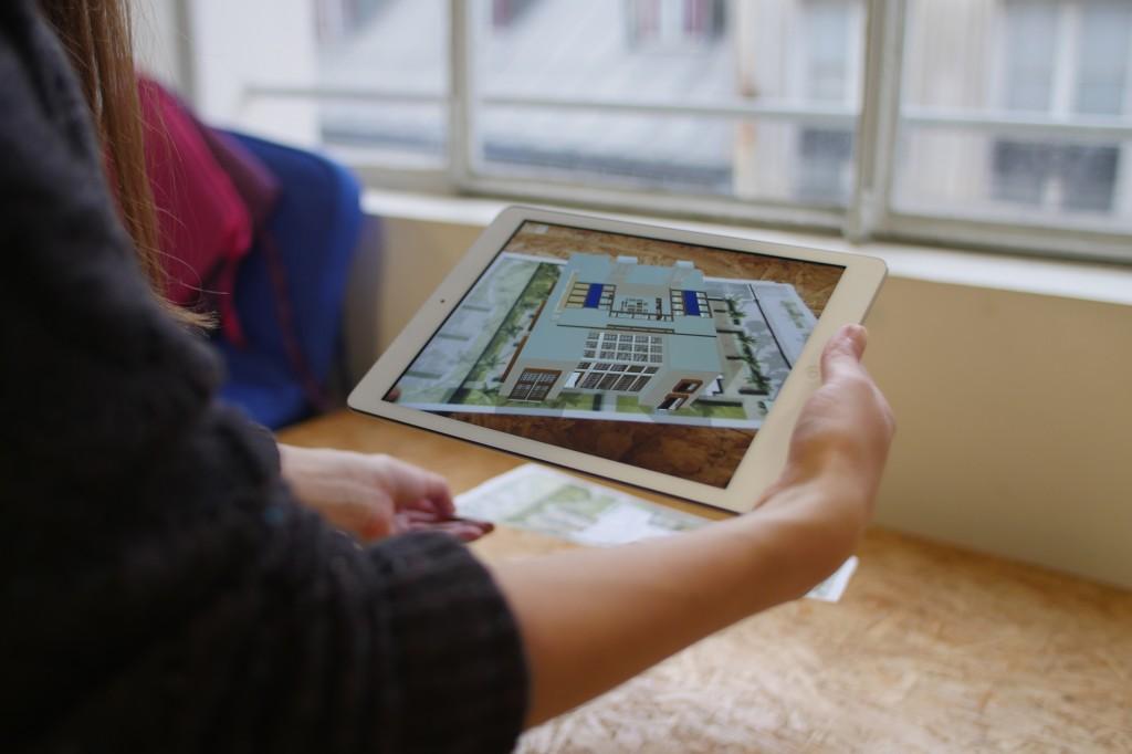 Ứng dụng của augmented reality - tương tác thực