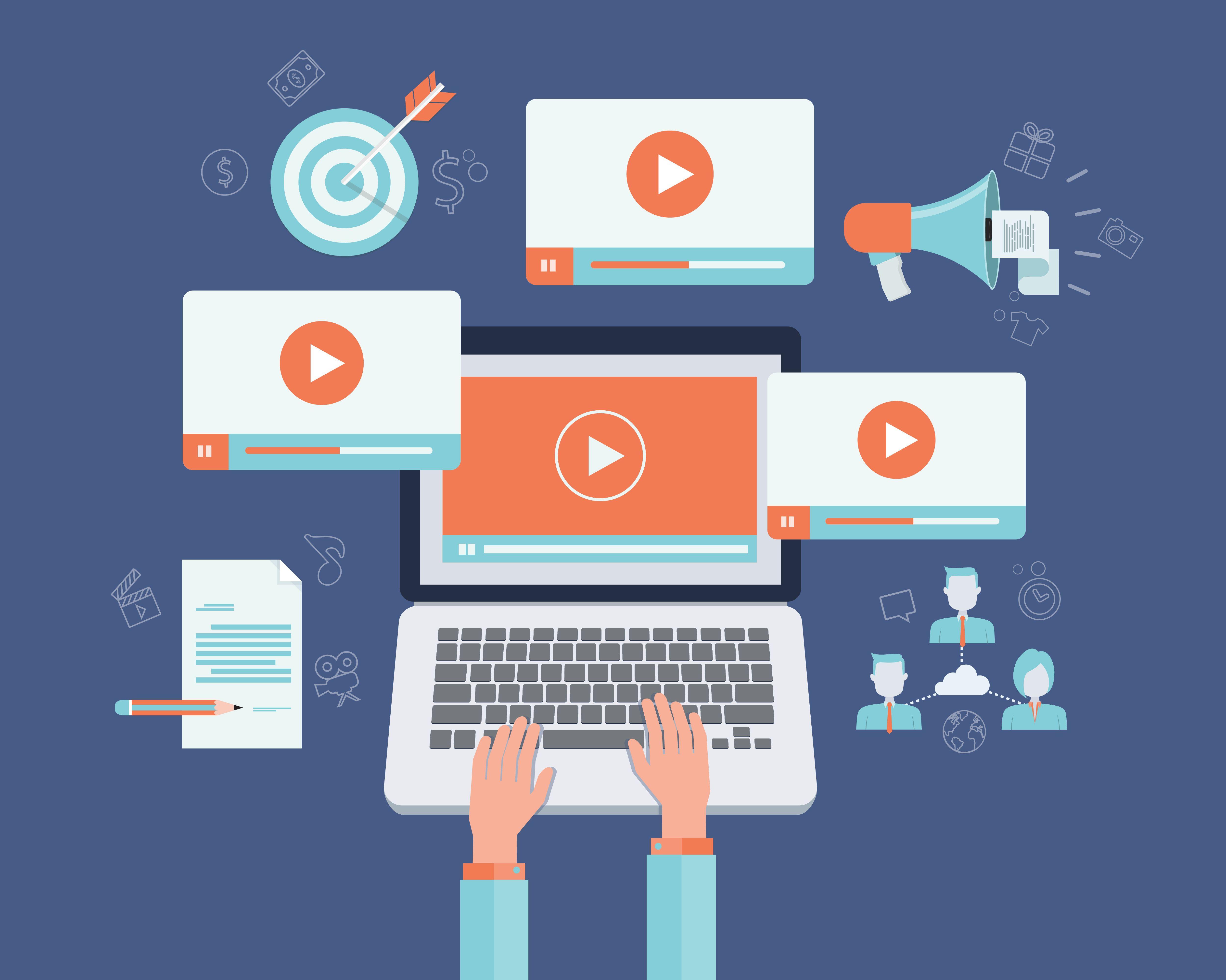 Khiến khách hàng không ngừng xem Video sản phẩm