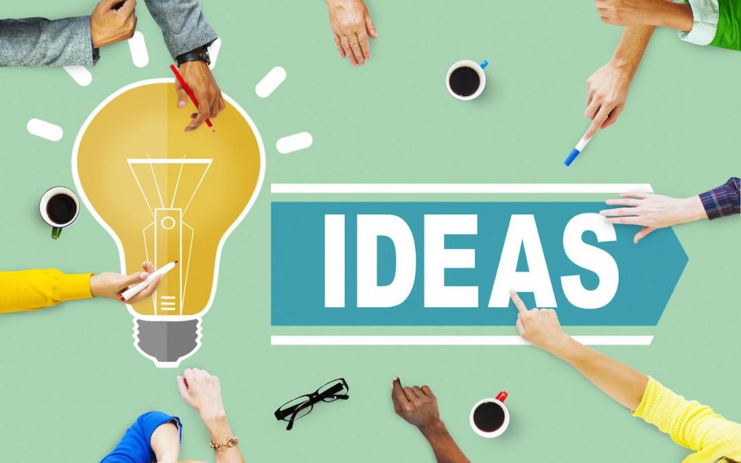 nội dung blog và ý tưởng