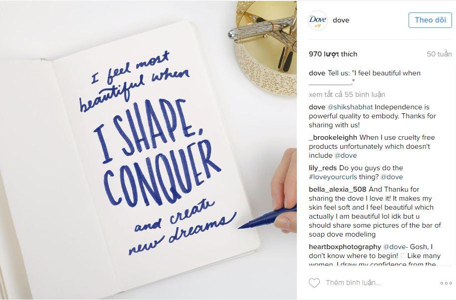 Content Marketing dựa trên sự đồng cảm bằng cách kêu gọi khách hàng chia sẻ