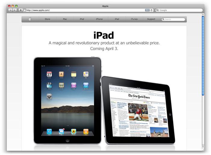 Website apple