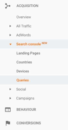queries-google-analytics
