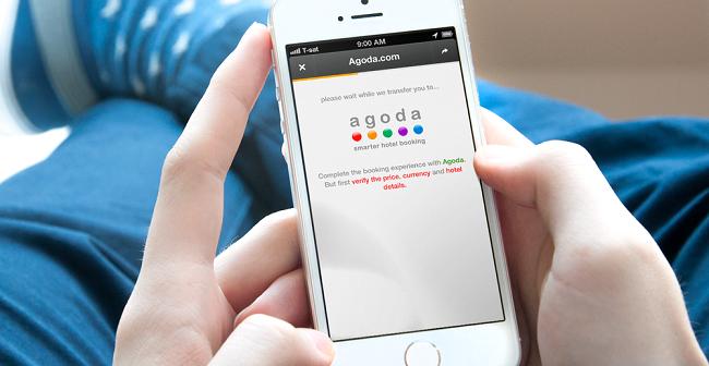 Agoda hay các app tìm kiếm chuyên biệt chính là nguyên nhân thay đổi cách thức hoạt động của SEO