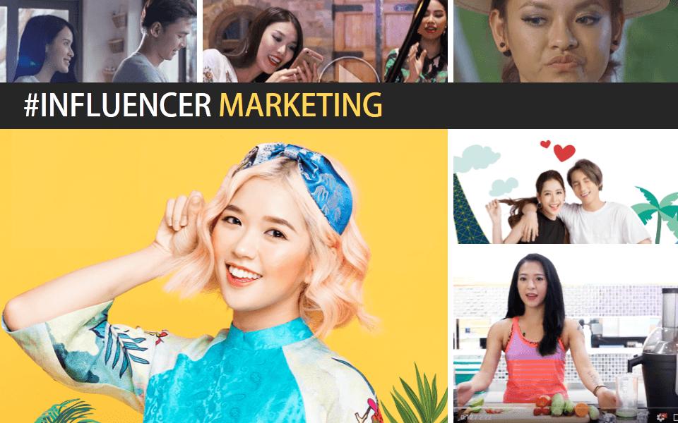sức mạnh influencer marketing