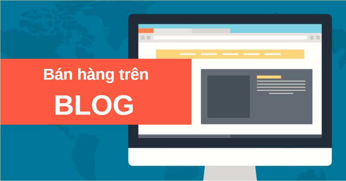 ban hang tren blog