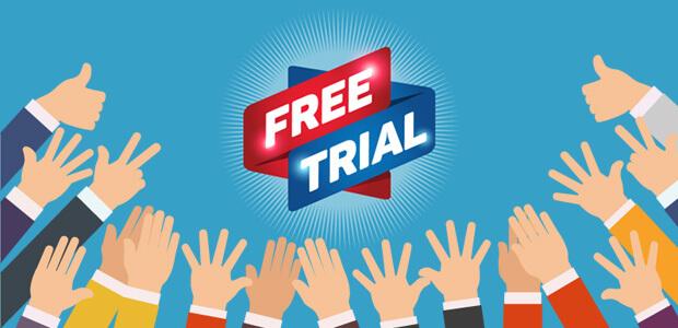 free trial thu hút khách hàng