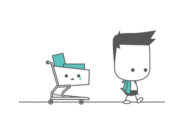 khách hàng bỏ giỏ