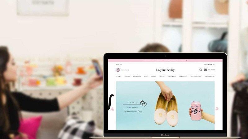 Một website bán hàng điển hình
