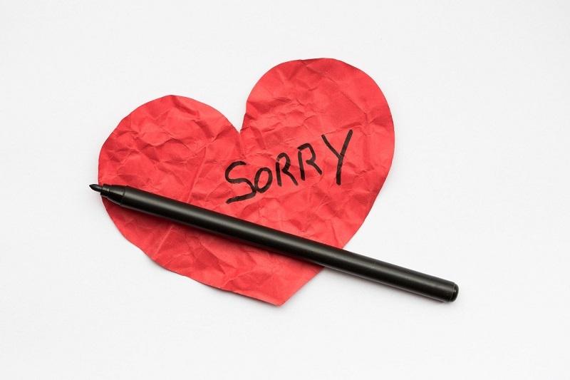 Trong trường hợp cần thiết, lời xin lỗi có giá trị hơn tất cả