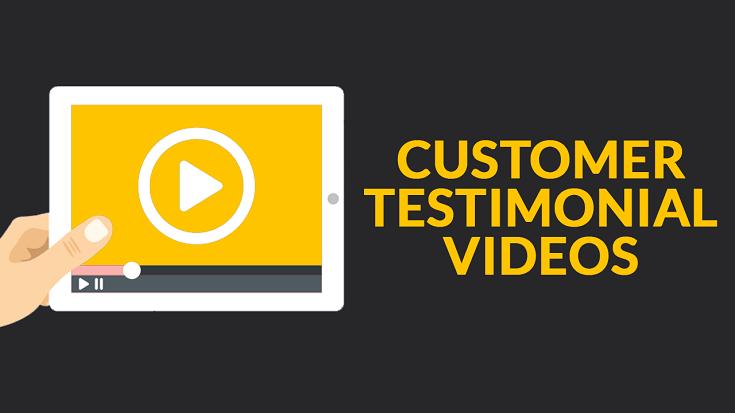 Testimonial dạng video đặc biệt hữu ích khi hiển thị trên trang chủ
