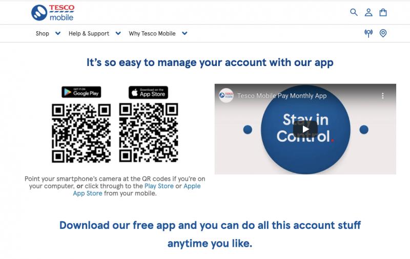Cung cấp mã QR để khách hàng không phải truy cập Google Play/ App Store để tải